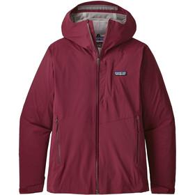 f5c81d60f27 Patagonia Stretch Rainshadow - Veste Femme - rouge